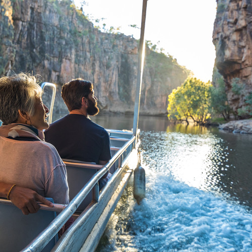 Katherine Gorge Cruise Group 05 DISCOVER