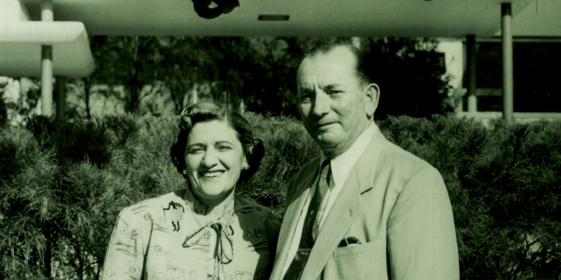 Solomon and Evelyn Tollman