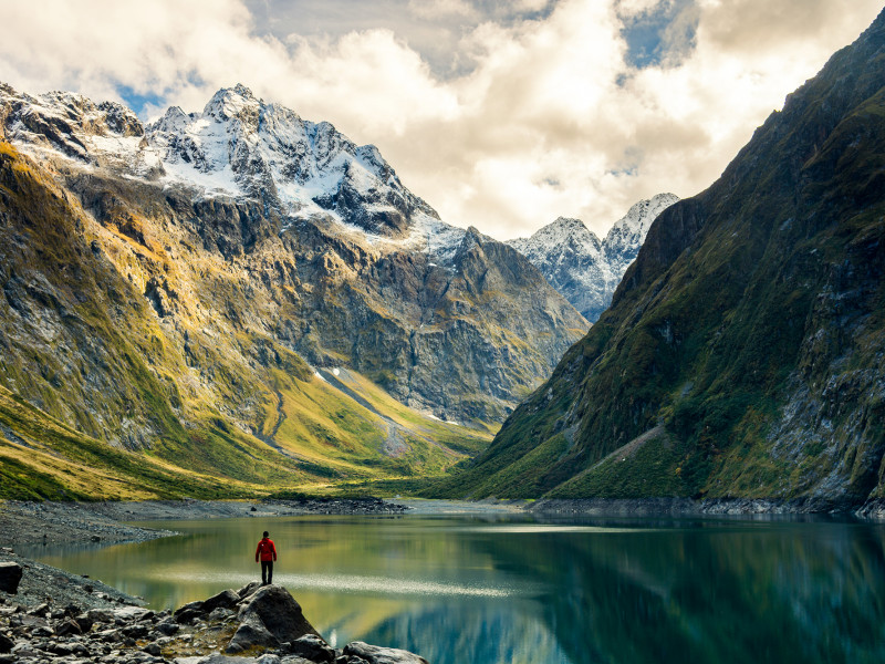 lake marian fiordland national park shutterstock 655246396 EDIT HERO
